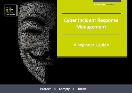 Cyber Incident Response Management – An introduction