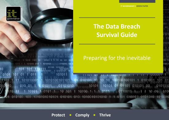The Data Breach Survival Guide - Preparing for the inevitable
