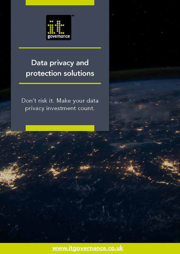 Data privacy and protection solutions