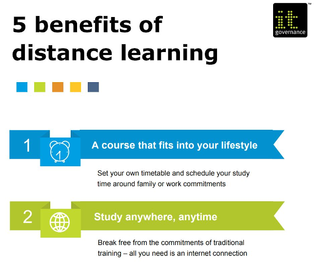 5 benefits of distance learning