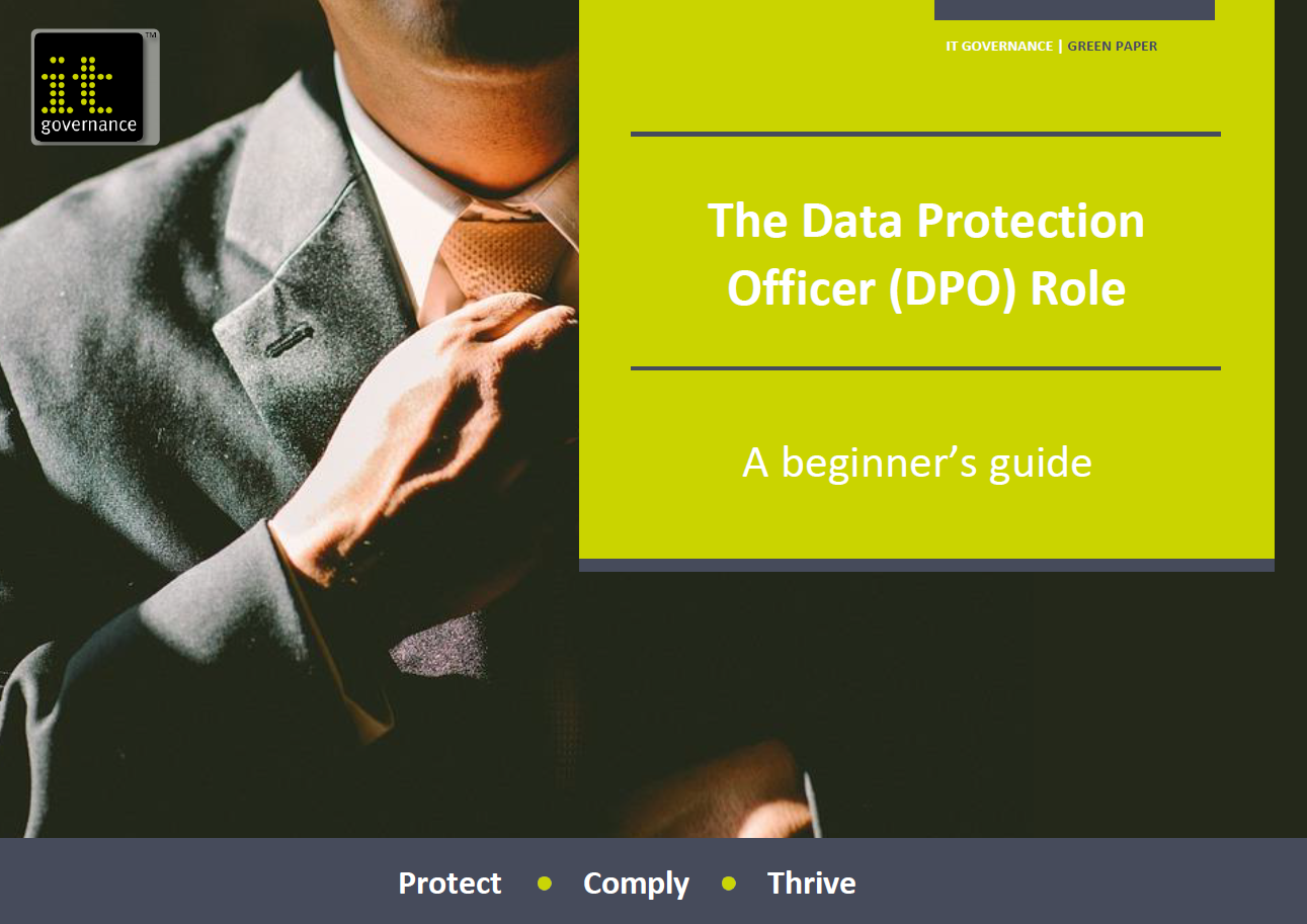 The Data Protection Officer (DPO) Role