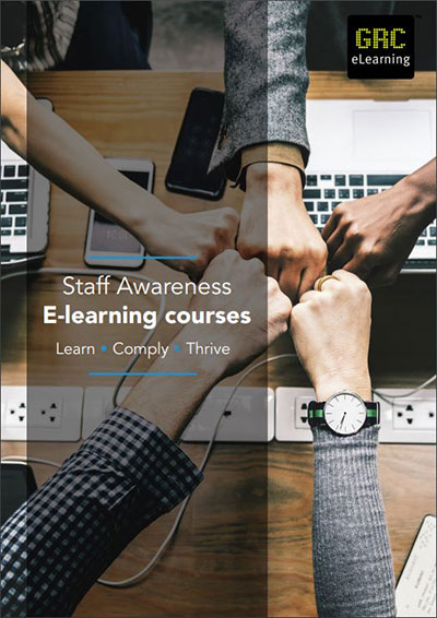 Free pdf download: Staff Awareness E-learning Courses