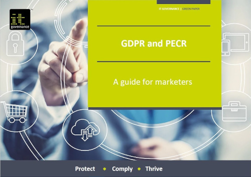 GDPR and PECR – A guide for marketers
