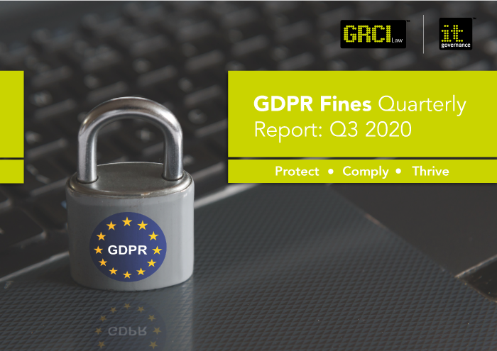 GDPR Fines Quarterly Report