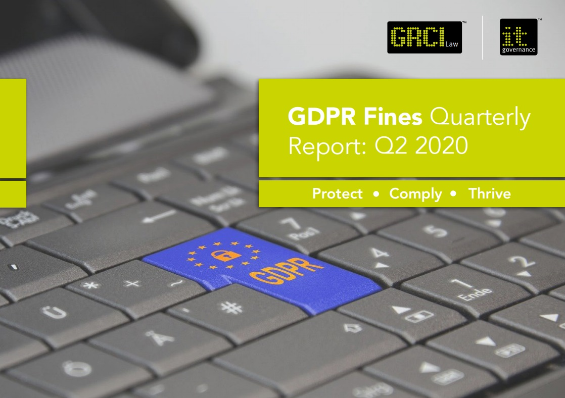 GDPR Fines Quarterly Report