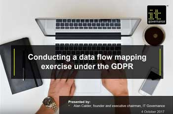 Free GDPR webinar download: Conducting a data flow mapping exercise under the GDPR