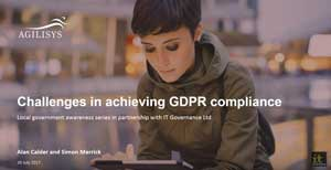 Free GDPR webinar download: The challenges faced by local government in achieving GDPR compliance