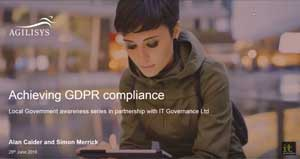 Free GDPR webinar download: Achieving GDPR compliance in local government
