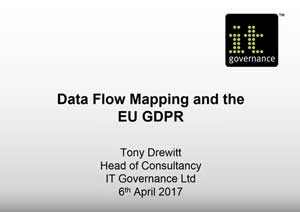 Free GDPR webinar download: Data flow audit and data mapping for GDPR compliance