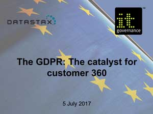 Free GDPR webinar download: The GDPR: The catalyst for customer 360