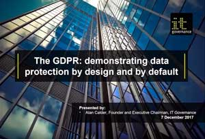 Free GDPR webinar download: demonstrating data protection by design and by default