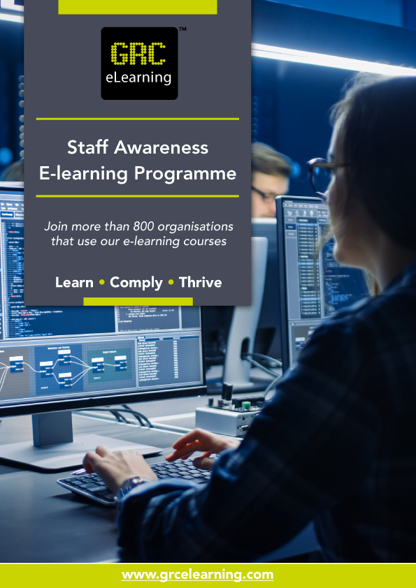 Brochure: Staff Awareness E-learning Programme