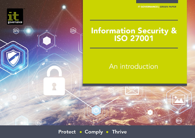 Information Security & ISO 27001 – An introduction - free pdf download