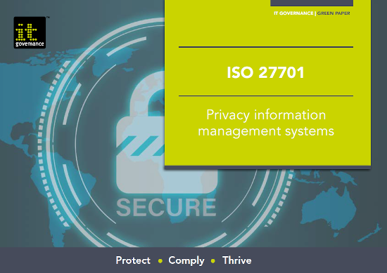 Free pdf download: Map your path to GDPR and DPA compliance with ISO 27701