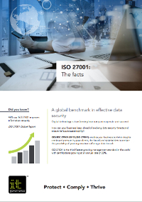 ISO 27001: the facts