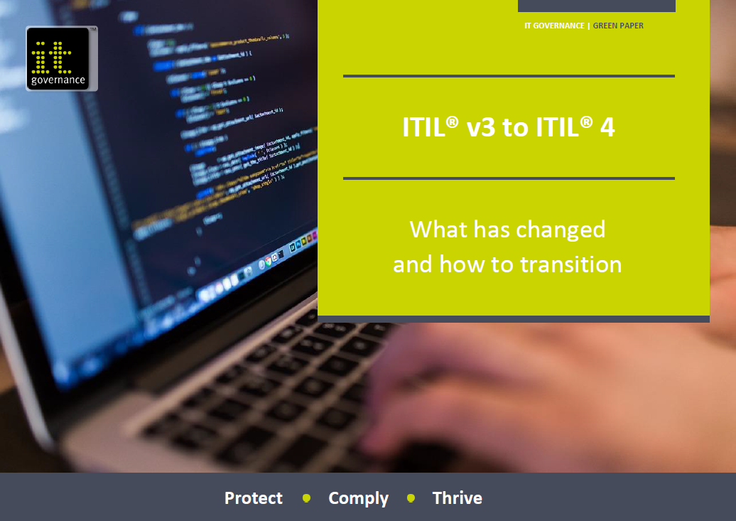ITIL® v3 to ITIL® 4 – What has changed and how to transition