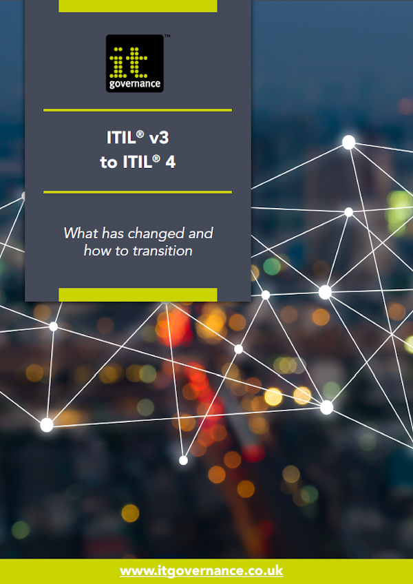 Free brochure: ITIL® v3 to ITIL® 4 – What has changed and how to transition
