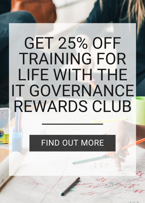 Join the It Governance Rewards club today!