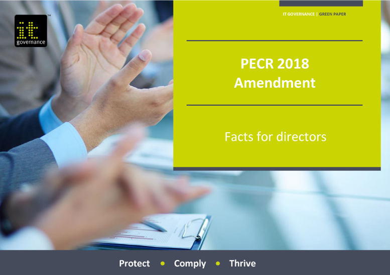 PECR 2018 Amendment – Facts for directors