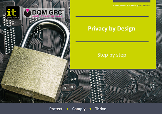 Privacy by Design – Step by step