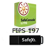 SafeXs FIPS 197 USB Stick Silver Package