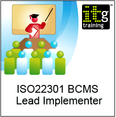 ISO22301 BCMS Lead Implementer Training Course - in London
