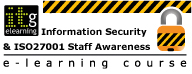 ITG e-Learning Information Security & ISO27001 Staff Awareness