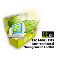 ISO14001 (ISO 14001) EMS Environmental Management System Documentation Toolkit