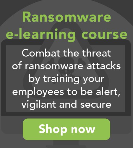 Ransomeware e-learning course