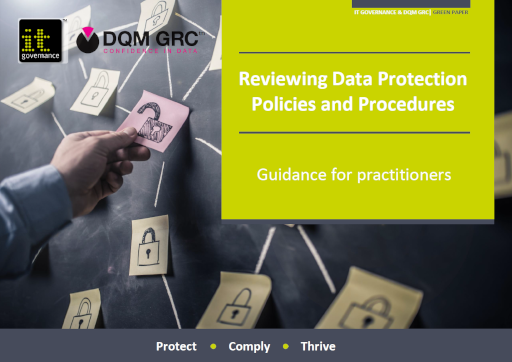 Reviewing Data Protection Policies and Procedures – Guidance for practitioners
