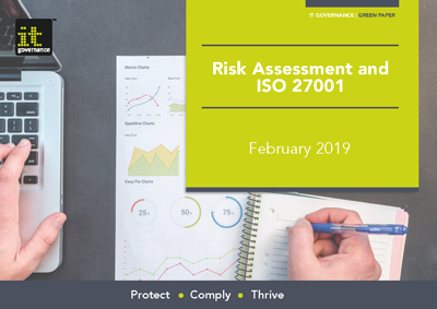 Free pdf download: Risk assessment and ISO 27001