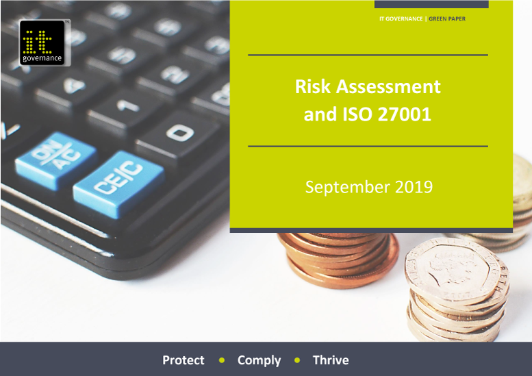 Risk Assessment and ISO 27001