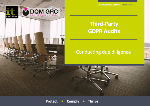 Third-Party GDPR Audits – Conducting due diligence