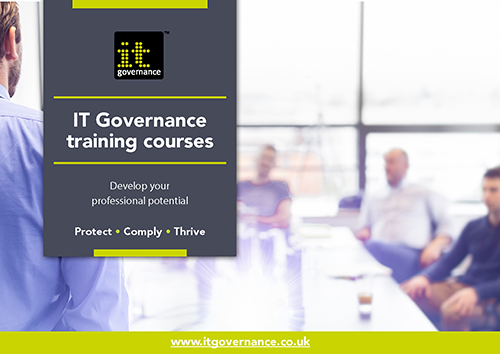 IT Governance 2020 training courses – Develop your professional potential