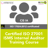ISO 27001 Internal Auditor Training Course – IT Governance