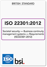 ISO22301 (ISO 22301) BCMS Requirements (Hardcopy)