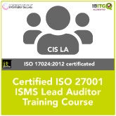 ISO 27001 Certified ISMS Lead Auditor Training Course