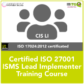 ISO 27001 Certified ISMS Lead Implementer Training Course