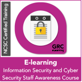 Information Security and Cyber Security E-Learning Staff Awareness Training (online)