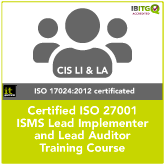 ISO 27001 Information Security Training Package No.2 Combination Course