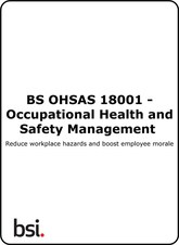 OHSAS 18001:2007 Occupational Health and Safety Management Systems