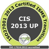 ISO27001 2013 Certified ISMS Transition