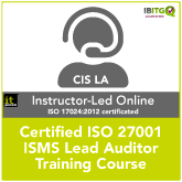ISO 27001 Certified ISMS Lead Auditor Online Training Course