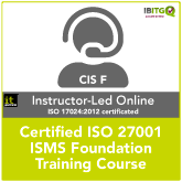 ISO 27001 Certified ISMS Foundation Training Online