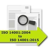 ISO 14001-2004 to ISO 14001-2015 Gap Analysis Tool