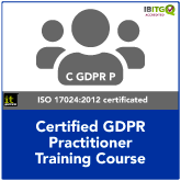Certified EU GDPR Practitioner Training Course