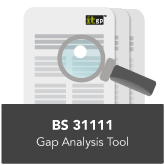 BS 31111 Gap Analysis Tool