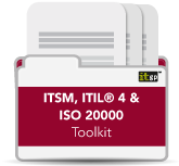 ITSM, ITIL® 4 & ISO 20000 Toolkit
