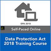 Data Protection Act 2018 Distance Learning Training Course