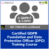 Certified GDPR Foundation and Certified Data Protection Officer (C-DPO) Combination Training Course
